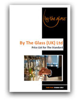 By The Glass Price List