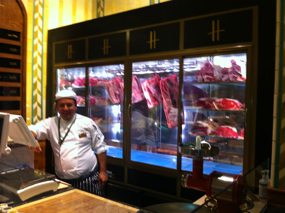 Harrods The Steakhouse London By The Glass 174
